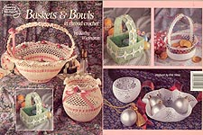 ASN Baskets & Bowls in Thread Crochet
