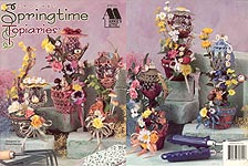 Annie's Attic Crochet Springtime Topiaries
