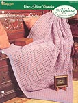 The Needlecraft Shop Afghan Collector Series: Luminous Lilac