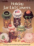 Leisure Arts Holiday Jar Lid Covers
