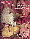 Annie Potter Presents Crochet Wedding Doll Trinket Boxes