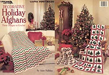 Leisure Arts Decorative Holiday Afghans (Anne Halliday)