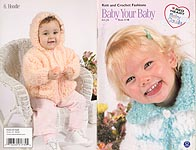 Coats & Clark Baby Your Baby Knit and Crochet Fashions