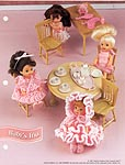 Annie's Fashion Doll Crochet Club: Baby's Trio for 4-1/2 in. doll