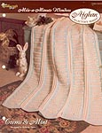 The Needlecraft Shop Afghan Collector Series: Creme de Mint