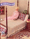 Annies Fashion Doll Crochet Club: Lacy Bedspread