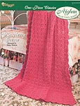 The Needlecraft Shop Afghan Collector Series: Raspberry Creme