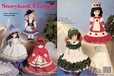 Storybook Classics-- for 11-1/2 inch porcelain-look little girl dolls