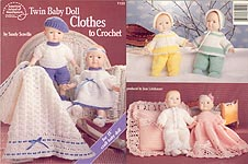 ASN Twin Baby Doll Clothes to Crochet