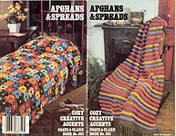 Coats & Clark's Book #303: Afghans & Spreads