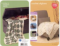 Red Heart Book 0732: Crochet Afghans
