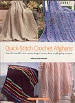 HWB hardcover Quick- Stitch Crochet Afghans