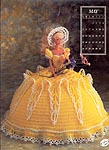 Annies Calendar Bed Doll Society, Collector Series, Miss May 1991.