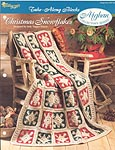 The Needlecraft Shop Afghan Collector Series: Christmas Snowflakes