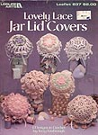 LA Lovely Lace Jar Covers