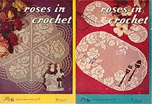 Lily Crochet Design Book No. 71: Roses in Crochet