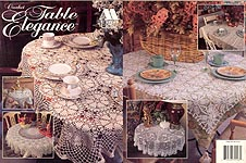 Annie's Attic Crochet Table Elegance