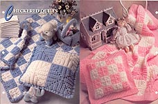 Annie's Crochet Quilt - Afghan Club: Checkered Quilts