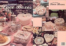 LA Crocheted Lace Boxes