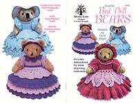 Shady Lane Crochet Bed Doll Bears