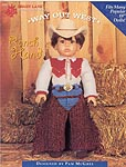 Shady Lane Way Out West: Ranch Hand Senorita outfit for 18 inch dolls