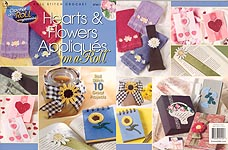 Annie's Attic Hearts & Flowers Appliques on a Roll