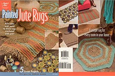 Annie's Attic Painted Jute Rugs