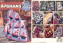 LA Patchwork Afghans Through The Year, Book 2