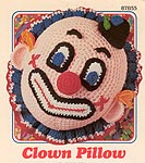 Annie's Attic Clown Pillow