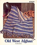 Annie's Attic Old West afghan