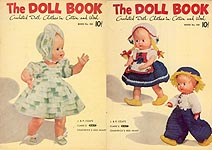J & P Coats Book No. 280: The Doll Book -- Crocheted Doll Clothes in Cotton and Wool
