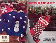 Red Heart Book 1408: Christmas Keepsakes