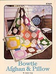 Annie's Attic Bowtie Afghan & Pillow