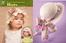 Annie's Attic Easy Springtime Hats