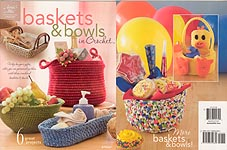Annie's Attic Baskets & Bowls in Crochet