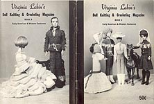 Virginia Lakin's Doll Knitting & Crocheting Magazine Book 9: Early American & Western Costumes