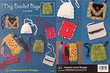 Jeanette Crews Designs Tiny Beaded Bags to Crochet