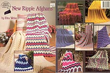New Ripple Afghans by Rita Weiss