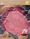 HWB Collectible Doily Series: Filet Christmas Roses