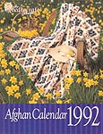 The Needlecraft Shop Afghan Calendar 1992
