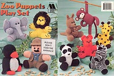 Annie's Attic Zoo Puppets Play Set