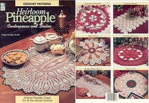 HWB Crochet Heirloom Pineapple Centerpieces and Doilies