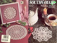 Southmaid Book 356: Timeless Doilies to Crochet