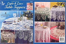 Annie's Attic Crochet Light & Lacy Table Toppers