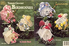 ASN Thread Crochet Birdhouses
