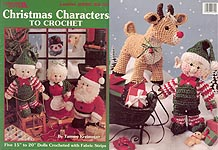 Leisure Arts Christmas Characters to Crochet