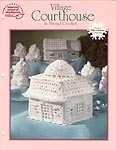 ASN White Christmas Collection: Village Courthouse in Thread Crochet