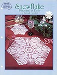 ASN White Christmas Collection: Snowflake Placemat & Doily in Thread Crochet