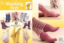 Annie's Attic Crochet Stocking Feet