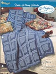 The Needlecraft Shop Afghan Collector Series: Blue Illusion